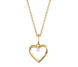 Xenox Collier Love Story Gold