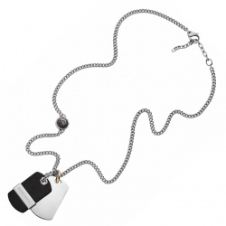 Diesel Collier Double Dogtags