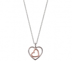 Xenox Collier Love Story Bicolor