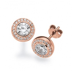 Viventy Jewels Ohrstecker Rosé