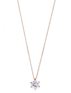 Xenox Collier Silver Circle Rosé gross