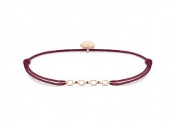 Thomas Sabo Armband Little Secret Chain Bordeauxrot
